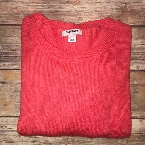 OLD navy~Cotton-Blend Crewneck Sweater~M